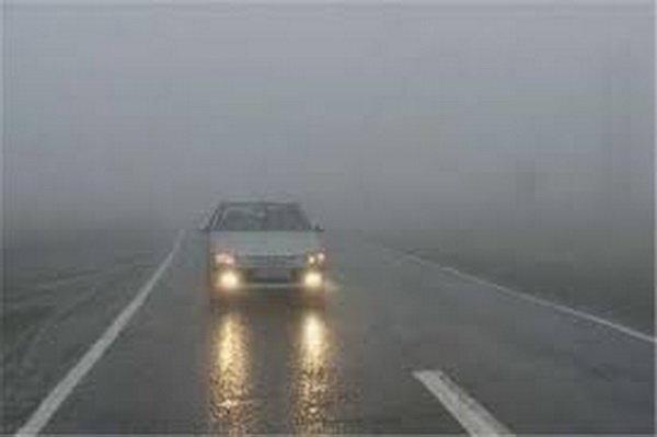 مه و ترافیک پرحجم در مسیرهای بازگشت از شمال