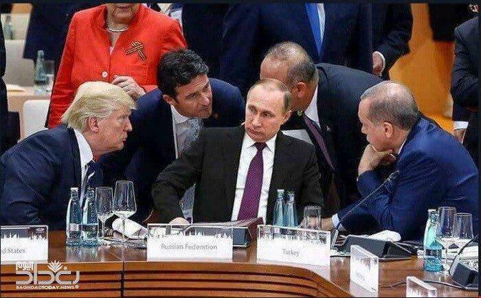 ملاقات اردوغان با پوتین در روسیه