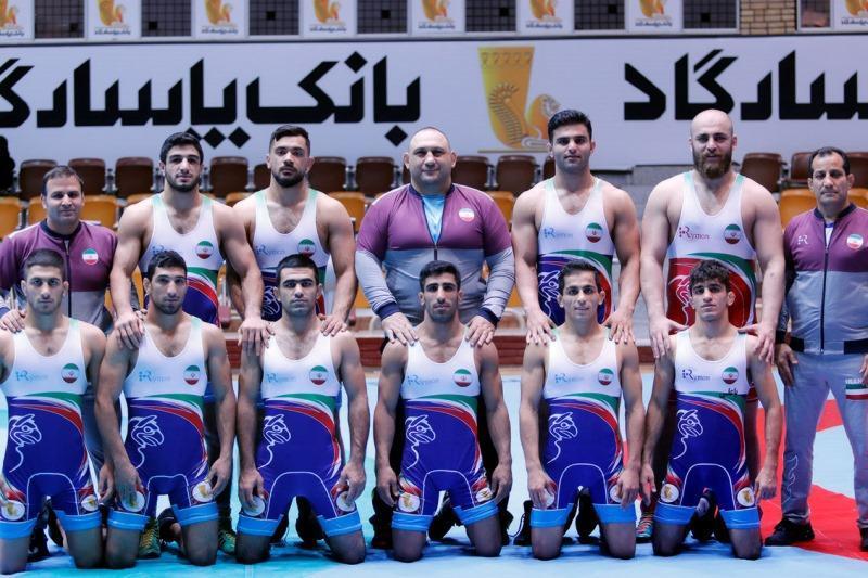 تیم کشتی آزاد امید ایران در رده سوم دنیا نهاده شد
