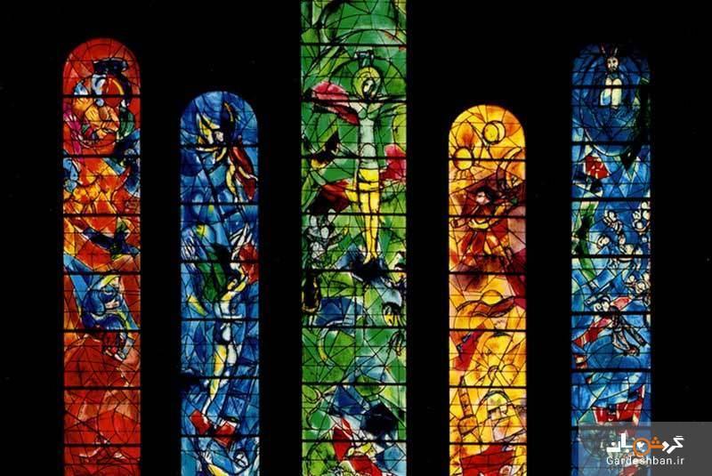 کلیسای فرومونستر زوریخ با برج ساعتی سبز رنگ، عکس