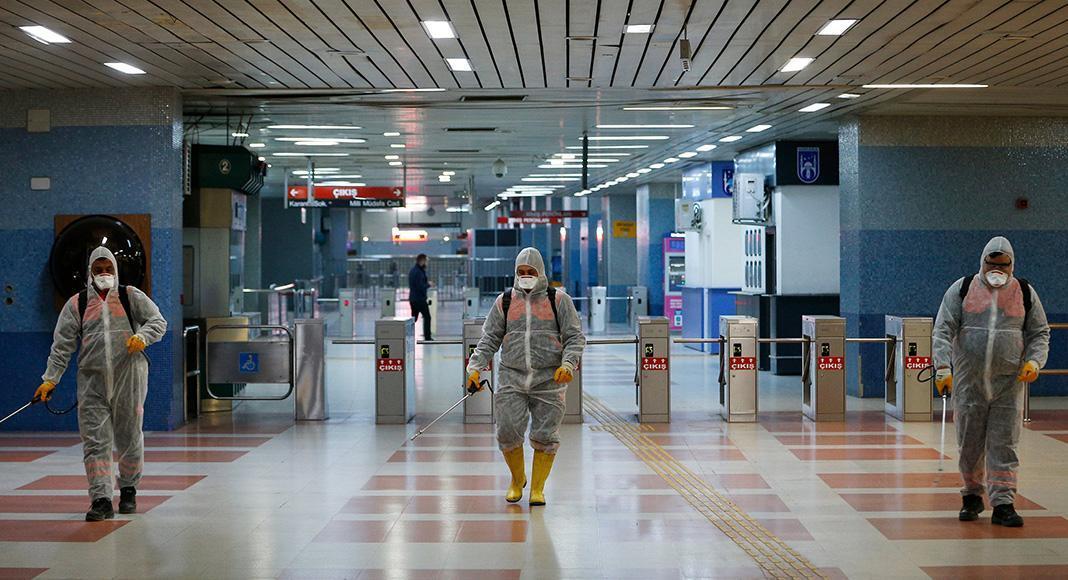 ضدعفونی فرودگاه های کشور