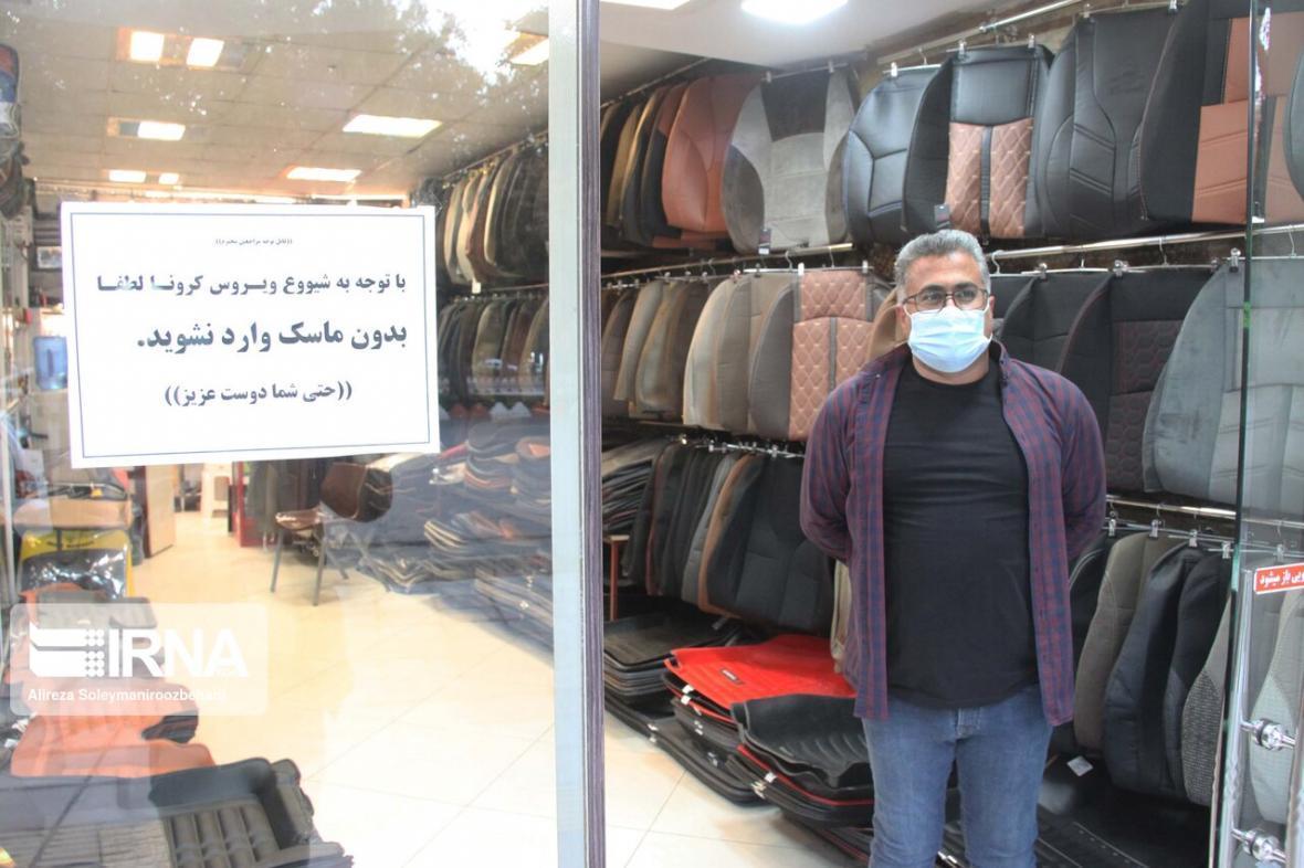 خبرنگاران محدودیت های اجتماعی با محور ماسک در البرز افزایش یافت