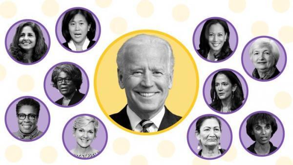 کابینه بایدن ، رکورددار وزیران زن در آمریکا